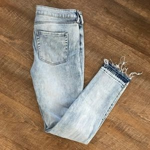 PacSun Bullhead Mid Rise Skinniest Ankle Jean
